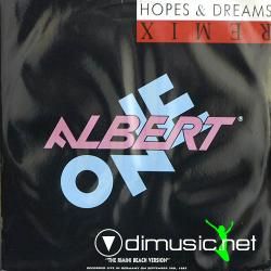 Albert One - Hopes & Dreams ( Remix)- 12'' Single - 1987