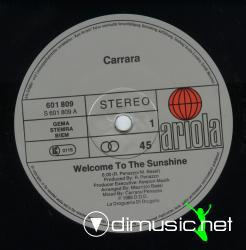 Carrara-Welcome to the Sunshine-Vinyl-1985