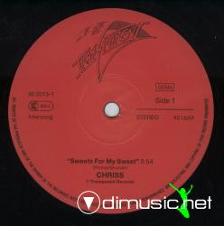 Chriss-Sweets for My Sweet-Vinyl-1986