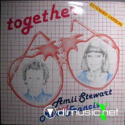 Amii Stewart & Mike Francis - Together - 12'' Single - 1985