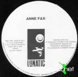 Anne Fax - Dancing With You - 12'' Single -  1989
