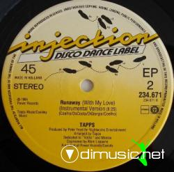 "Tapps - Runaway (With My Love) (Vinyl, 12"") 1984"