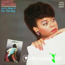 Deniece Williams - Let's Hear It For The Boy (12'' Vinyl Maxi)