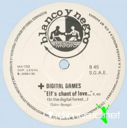 DIGITAL GAME-PLEASE DON'T GO 12'' 1985