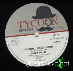 Dorine Hollier-Tonight Crazy Night-Vinyl-1984