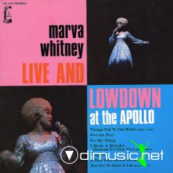 Marva Whitney  - Live & Lowdown At The Apollo [1970]