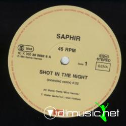 Saphir - Shot In The Night