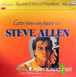 Steve Allen - Letter From My Heart (Vinyl, 12''- 1984)