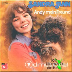 Sandra Ann - Andy mein Freund - 7'' Vinyl single - 1976