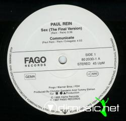Paul Rein - Sex / Communicate