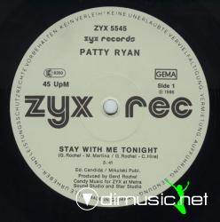Patty Ryan - Stay With Me Tonight (12'' Version)