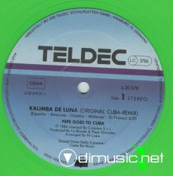 Pepe Goes To Cuba - Kalimba De Luna (12'' Version)