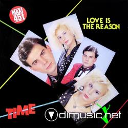 Time - Love Is The Reason (12'' 1985)