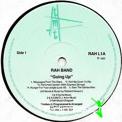 The Rah Band - Going Up