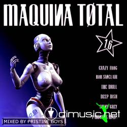 Cover Album of Maquina Total 16