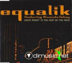 Equalik Feat. Amanda Fahey - Movin' In The Heat Of The Night (Maxi-CD) 2000