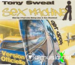 Tony Sweat - Sex Machine (Get Up I Feel Like Being Like A Sex Machine) (Maxi-CD) 2000