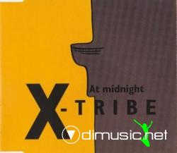 X-Tribe - At Midnight (Maxi-CD) 2000