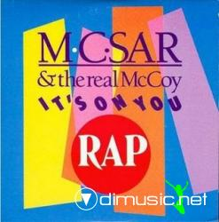 M.C. Sar & The Real McCoy - It's On You (Maxi-Vinyl) 1990