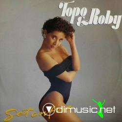 "Topo & Roby - Set On Fire (Vinyl, 12"") 1988"
