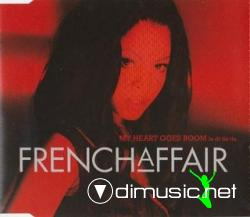 French Affair - - My Heart Goes Boom (La Di Da Da) (Maxi-CD) 1999