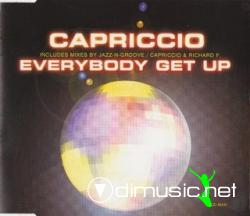 Capriccio - Everybody Get Up (Maxi-CD) 1999