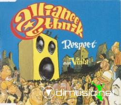 Alliance Ethnik avec Vinia - Respect (Maxi-CD) 1995