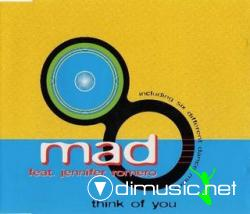 Mad feat. Jennifer Romero - Think Of You (Maxi-Cd) 1996