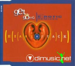 Heart Attack - Get Me Going (The E-Rotic Remixes) (Maxi-CD) 1994