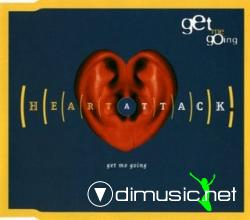 Heart Attack - Get Me Going (Maxi-CD) 1994