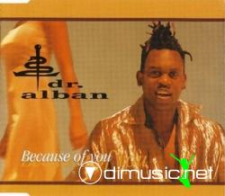 Dr. Alban - Because Of You (Maxi-CD) 2001
