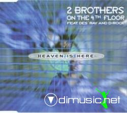 2 Brothers On The 4th Floor - Heaven Is Here (Maxi-CD) 1999