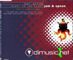 Jam & Spoon - Right In The Night (Fall In Love With Music) (Maxi-CD) 1994