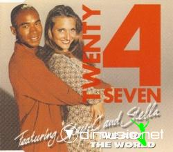 Twenty 4 Seven Feat. Stay-C And Stella - We Are The World (Maxi-CD) 1996