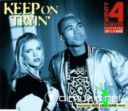 Twenty 4 Seven - Keep On Tryin' (Maxi-CD) 1996