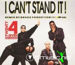 Twenty 4 Seven - I Can't Stand It (Remixes) (Maxi-CD) 1990