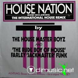 The House Master Boyz And The Rude Boy Of House - House Nation (Maxi-Vinyl) 1986