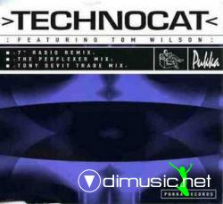 Technocat Feat. Tom Wilson - Technocat (Maxi-CD) 1995