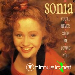 Sonia - You'll Never Stop Me Loving You (Remix) (Maxi-Vinyl) 1989