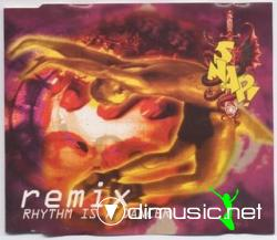 Cover Album of Snap! - Rhythm Is A Dancer (Remix) (Maxi-CD) 1992
