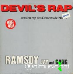 Ramsdy Jay And Gang - Devil's Rap (Maxi-Vinyl) 1986