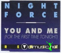 Night Force - You And Me (Maxi-CD) 1991