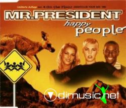 Mr. President - Happy People (Maxi-CD) 1998