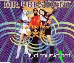 Mr. President - 4 On The Floor (Maxi-CD) 1995