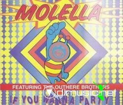 Molella - If You Wanna Party (Maxi-CD) 1995