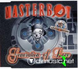 Masterboy - Generation Of Love (Limited Edition) (Maxi-CD) 1995