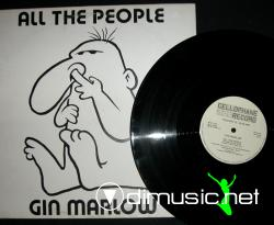 Gin Marlow - All The People 12''  Maxi Vinyl 1983