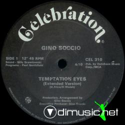 Gino Soccio  - Temptation Eyes - Vinyl 12 '' - 1985