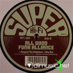 All Good Funk Alliance - Avance EP(2008)