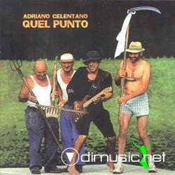 Cover Album of Adriano Celentano -  Quel Punto - 1994